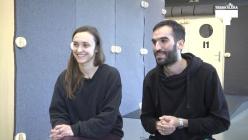 Ángela Millano eta Julián Pacomiori elkarrizketa
