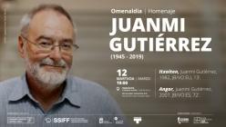 Juanmi Gutiérrezi omenaldia = Homenaje a Juanmi Gutiérrez