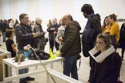 Inauguración exposición Esther Ferrer