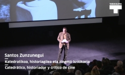 Santos Zunzunegui aurkezpena. The Night of the Hunter