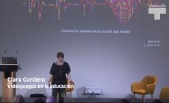 """Clara Cordero. """"Videojuegos en la educación"""""""