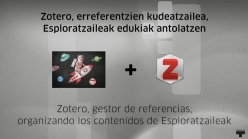 Zotero bideo-tutoriala