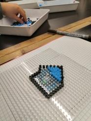 Plastic Pixel Art