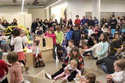 Fiesta de apertura del espacio 0-6 y taller de instrumentos reciclados
