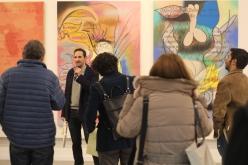 Desayuno con los comisarios y artistas de la exposición
