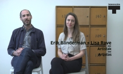 Erik Blinderman eta Lisa Raveri elkarrizketa