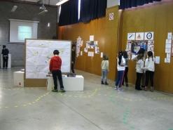 Visita de los colegios a la exposición