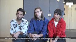 Parastoo Anoushahpour, Faraz Anoushahpour eta Ryan Ferkori elkarrizketa